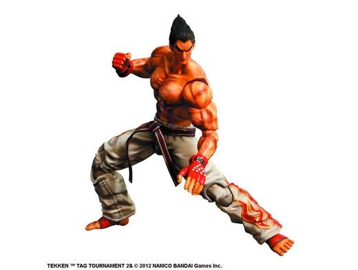 Figura Tekken TT2 Play Arts Kai Kazuya Mishima