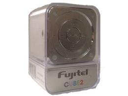 Parlante Portatil Reproductor MP3/FM Plata Fujitel