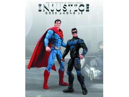 Figura Injustice Nightwing vs Superman 2 Pack