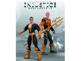 Figura Injustice Aquaman vs Black Adam 2 Pack