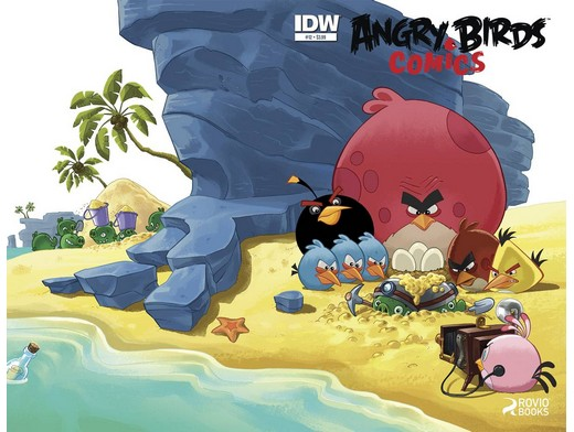 Angry Birds #12 (ING/CB) Comic