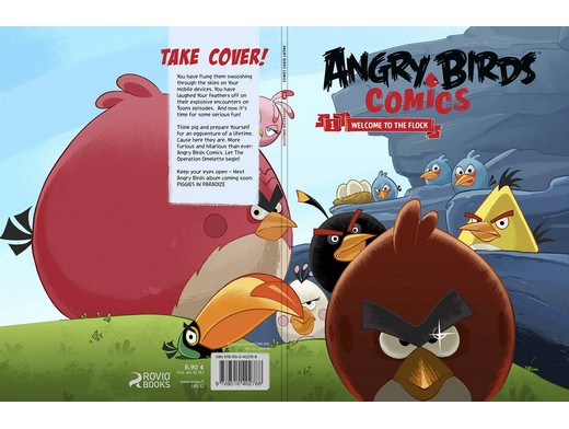 Angry Bird Comics v1 Welcome T T F(ING/HC) Comic