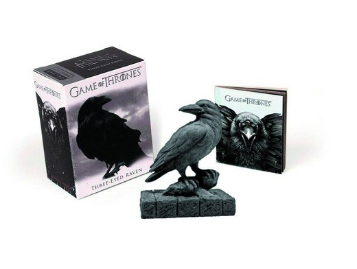 Game of Thrones Three Eyed Raven W Booklet