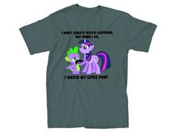 Polera My Little Pony I Watch MLP Charcoal Px