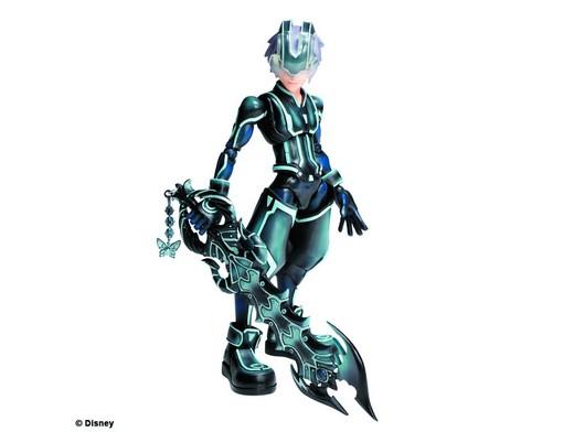 Figura Kingdom Hearts 3D Play Arts Kai Riku Tron