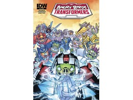 Angry Birds Transformers #4/4 (ING/CB) Comic
