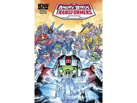 Angry Birds Transformers #4/4 (ING/CB) Comic