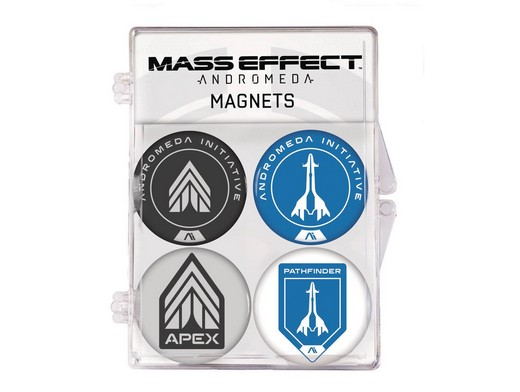 Mass Effect Andromeda Magnet Set 4 Pack