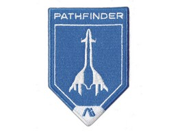 Parche Mass Effect Andromeda Pathfinder Embroidere