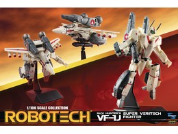 Figura Robotech 1/100 Rick Hunter Super Veritech