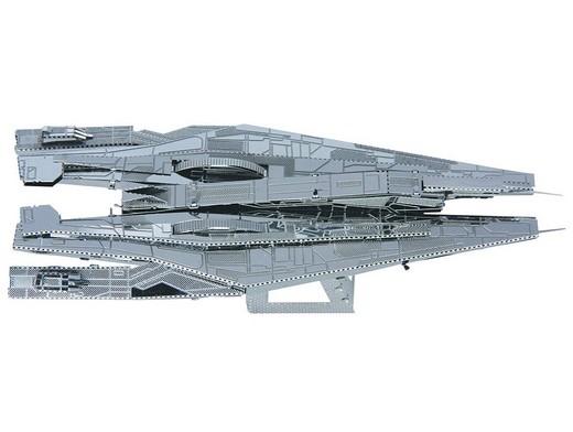 Mass Effect 3D Laser-cut Model Alliance Cruiser