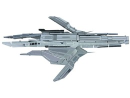 Mass Effect 3D Laser-cut Model Turian Cruiser