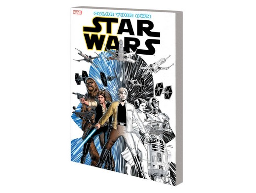 Color Your Own Star Wars (ING) Libro