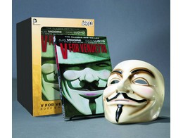 V For Vendetta Book and Mask Set (ING/TP) Comic