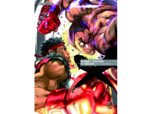 Street Fighter X Tekken Artworks (ING/TP) Comic