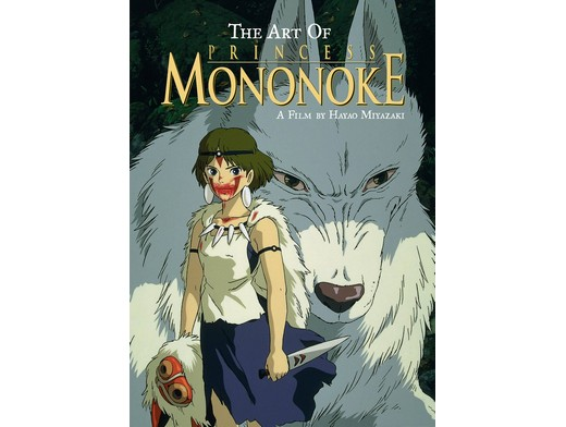 Art of Princess Mononoke (ING) Libro