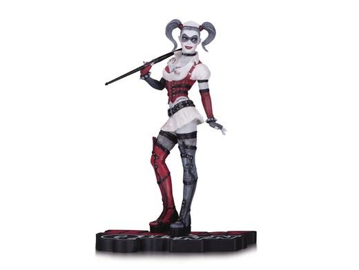 Estatua Harley Quinn Red W&B Arkham Asylum