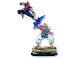 Estatua Street Fighter Gouken / Akuma Diorama