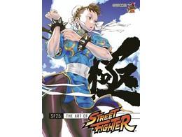 SF25 Art of Street Fighter (ING) Libro