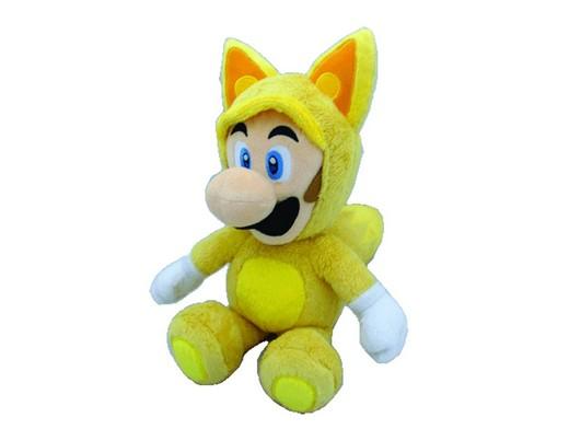 Peluche Super Mario Bros Kitsune Luigi 13in