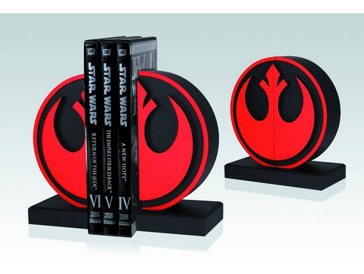 Star Wars Rebel Seal Bookends