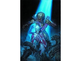 Alien vs Predator Fire and Stone #4 (ING/CB) Comic