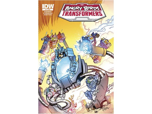 Angry Birds Transformers #3/4 (ING/CB) Comic