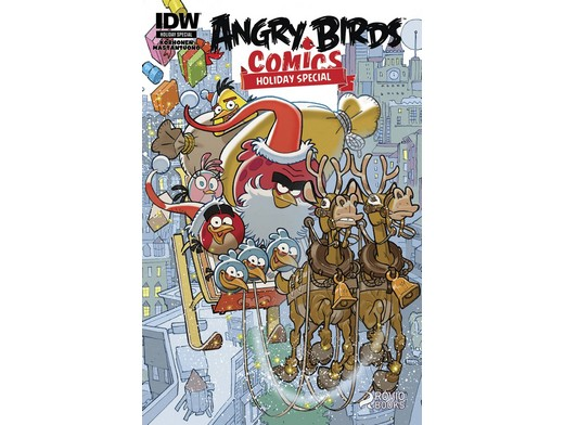 Angry Birds Holiday Special (ING/CB) Comic