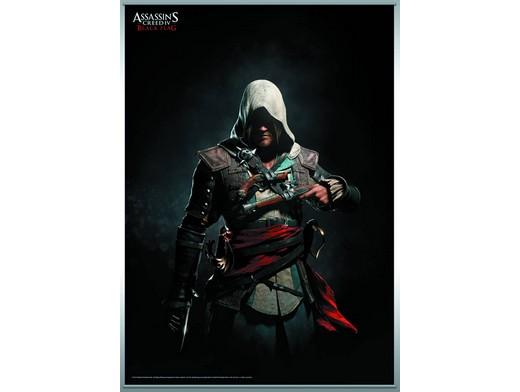 Assassins Creed IV Black Flag Wall Scroll v1