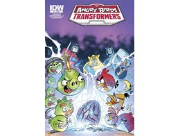 Angry Birds Transformers #1/4 (ING/CB) Comic