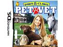 Paws & Claws Pet Vet DS Usado