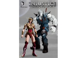 Figura Injustice Wonder Woman Vs Solomon Grundy