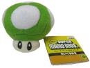 Peluche Mushroom Verde (1UP) 6 cm
