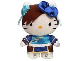 Peluche Hello Kitty Chun-Li 10'' Deluxe