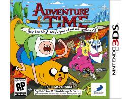 Adventure Time: Hey Ice King! 3DS Usado