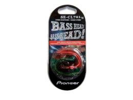 Audífono In Ear Bass Head Rojo/Verde Pioneer