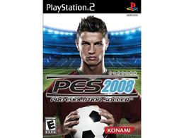 Winning Eleven: Pro Evolution Soccer 2008 PS2