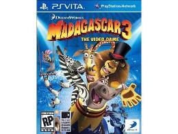 Madagascar 3: The Game PS Vita