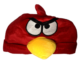 Gorro Angry Birds Red