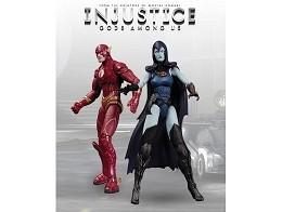 Figura Injustice Flash Vs Raven 2 Pack