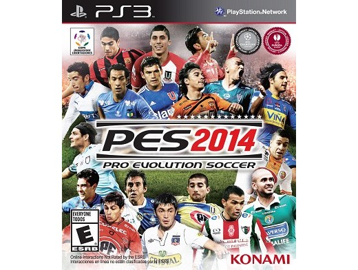 Pro Evolution Soccer 2014 PS3 Usado