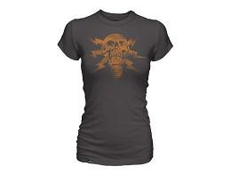 Polera Jinx: Battlefield 4 Lightning Skull mujer