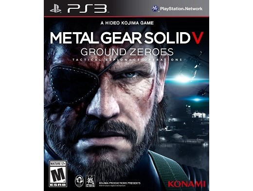 Metal Gear Solid V: Ground Zeroes PS3 Usado