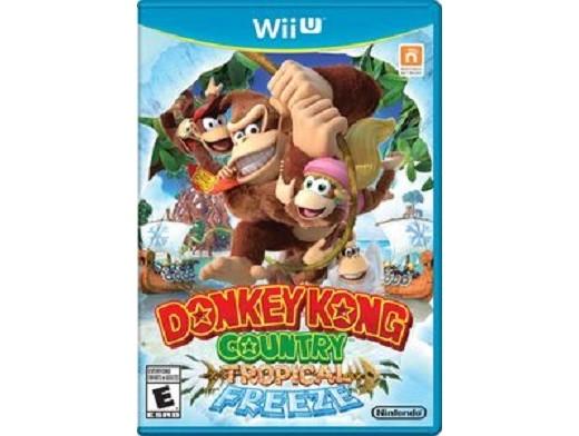 Donkey Kong Country Tropical Freeze Wii U Usado