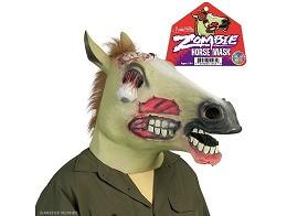 Máscara Cabeza de Caballo Zombie