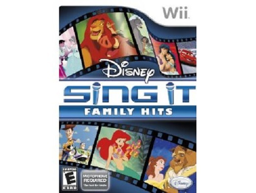 Disney Sing it Family Hits Wii Usado