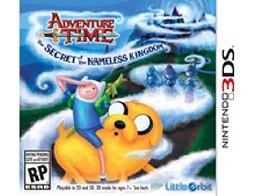 Adventure Time:Secret of Nameless Kingdom 3DS Usado