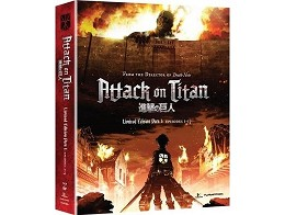 Attack on Titan - Part 1 Limited Edition Blu-Ray