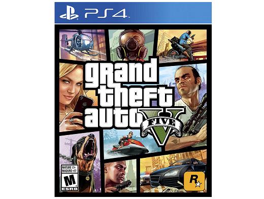 Grand Theft Auto GTA V PS4 Usado