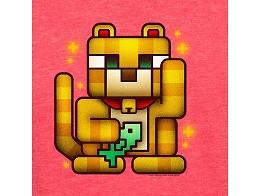 Polera Jinx: Minecraft Lucky Ocelot